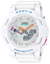 Casio Baby-G Valkoinen/Muovi Ø44 mm