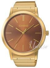 Casio Casio Collection Ruskea/Kullansävytetty teräs Ø40 mm