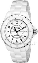 Chanel J12 Ceramic White Dial