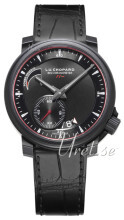 Chopard L.U.C 8HF Power Control Musta/Nahka Ø42 mm