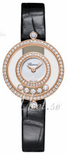 Chopard Happy Diamonds Icons Valkoinen/Nahka Ø25 mm
