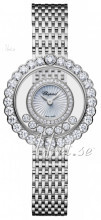 Chopard Happy Diamonds Icons Valkoinen/18K valkokultaa Ø30.3 mm