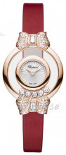 Chopard Happy Diamonds Icons Valkoinen/Satiini Ø25.8 mm