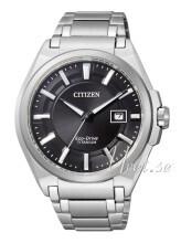 Citizen Super Titanium Musta/Titaani