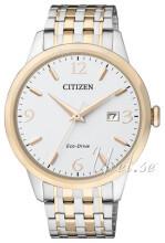 Citizen Eco Drive 180 Valkoinen/Kullansävytetty teräs Ø40 mm