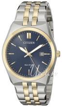 Citizen Dress Sininen/Kullansävytetty teräs