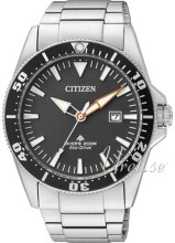 Citizen Promaster Sea Musta/Teräs
