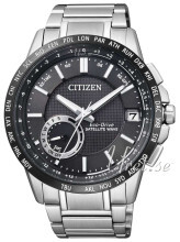 Citizen Elegance Musta/Teräs