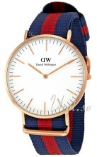 Daniel Wellington Classic Oxford Kerma/Tekstiili Ø40 mm