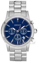 DKNY Chronograph Sininen/Teräs