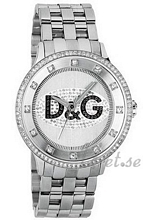 Dolce & Gabbana D&G Prime Time Hopea/Teräs Ø43 mm