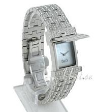 Dolce & Gabbana D&G Valkoinen/Teräs 36x24 mm