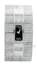 Dolce & Gabbana D&G Musta/Teräs 36x24 mm