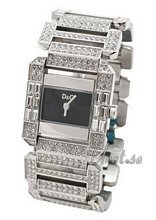 Dolce & Gabbana D&G Royal Black Dial Bracelet