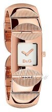 Dolce & Gabbana D&G Hopea/Punakultasävyinen 22x22 mm