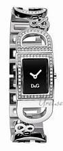 Dolce & Gabbana D&G Musta/Teräs 25x20 mm