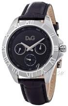 Dolce & Gabbana D&G Chamonix Musta/Nahka Ø40 mm
