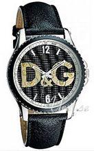 Dolce & Gabbana D&G Sestriere Musta/Nahka Ø44 mm