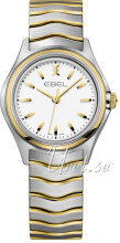 Ebel Wave Valkoinen/Kullansävytetty teräs