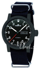 Fortis Spacematic Musta/Tekstiili Ø40 mm