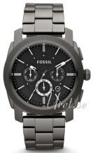 Fossil Machine Musta/Teräs Ø45 mm