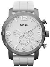 Fossil Nate Valkoinen/Kumi Ø50 mm