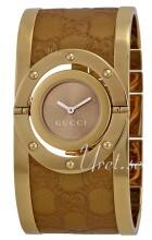 Gucci Twirl Ruskea/Kullansävytetty teräs