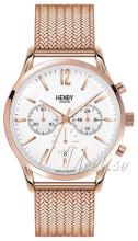 Henry London Hampstead Valkoinen/Punakultasävyinen Ø41 mm