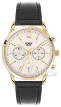 Henry London Harrow Valkoinen/Nahka Ø41 mm