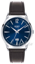 Henry London Harrow Sininen/Nahka Ø41 mm