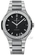 Hublot Classic Fusion Musta/Titaani Ø38 mm