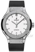 Hublot Classic Fusion Valkoinen/Kumi Ø33 mm