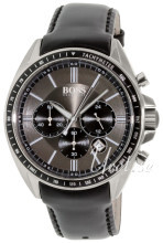 Hugo Boss Chronograph Harmaa/Nahka Ø43 mm