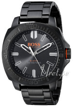 Hugo Boss Musta/Teräs Ø46 mm
