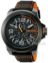 Hugo Boss Musta/Nahka Ø50 mm