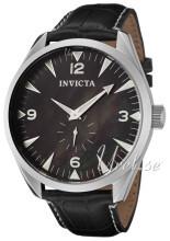 Invicta Vintage Musta/Nahka Ø49.5 mm