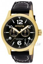 Invicta I-Force Musta/Nahka Ø48 mm