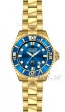 Invicta Pro Diver Sininen/Kullansävytetty teräs