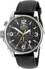 Invicta I-Force Musta/Nahka Ø46 mm