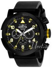 Invicta I-Force Musta/Nahka Ø51 mm