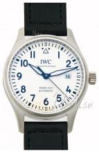 IWC Pilots Classic Valkoinen/Nahka Ø40 mm