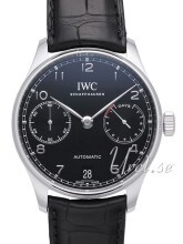 IWC Portuguese Musta/Nahka Ø42.3 mm