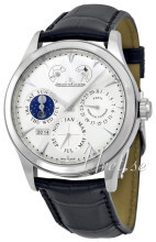 Jaeger LeCoultre Master Eight Days Perpetual Stainless Steel Hop