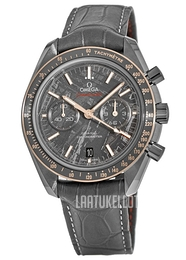 Omega Speedmaster Moonwatch Harmaa/Nahka Ø44.25 mm 311.63.44.51.99.001