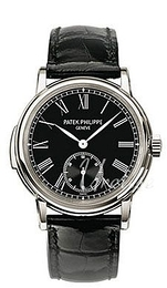 Patek Philippe Grand Complications Musta/Nahka Ø38 mm 5078P/010