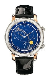 Patek Philippe Grand Complications Celestial Sininen/Nahka Ø43.1 mm 5102PR/001