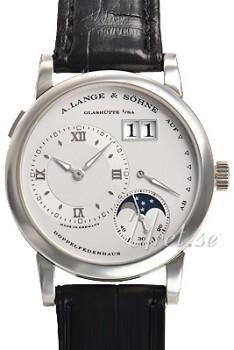 A. Lange & Söhne Lange 1 Moon Phase Hopea/Nahka Ø38.5 mm
