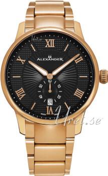Alexander Statesman Musta/Punakultasävyinen Ø42 mm