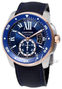 Cartier Calibre De Cartier Sininen/Kumi Ø42 mm