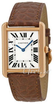 Cartier Tank Solo Hopea/Nahka